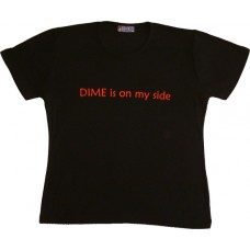 DIMEMAN T-Shirt for women & kids, Size S